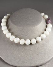 White Coral Necklace -  Neiman Marcus