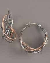 Elizabeth and James Rose Twig Earrings from neimanmarcus.com