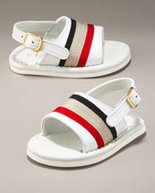 Neiman Marcus - NM Kids - Apparel - Burberry - Children's :  sandal burberry sandals shoes