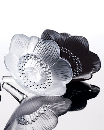 Clear Anemone Figurine