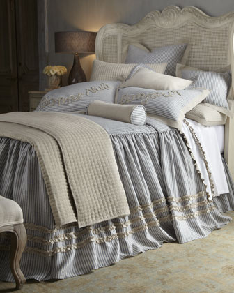 white french bed linens neiman marcus white french. Black Bedroom Furniture Sets. Home Design Ideas
