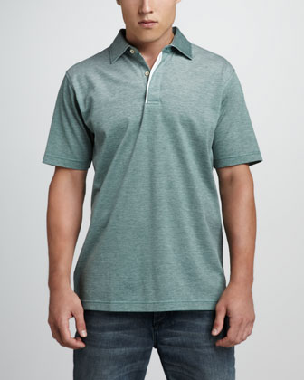 Country Oxford Short-Sleeve Polo