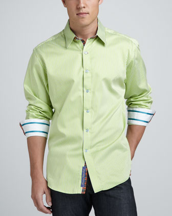 Nemo Striped Sport Shirt