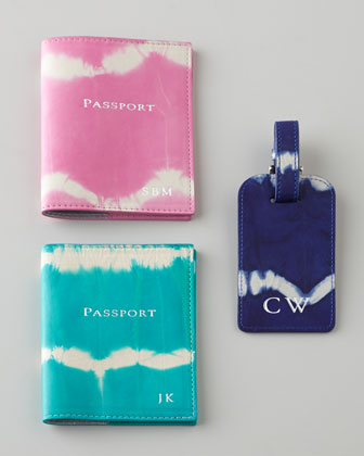 Tie-Dye Travel Accessories