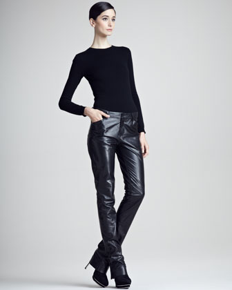 Kyler Leather Pants