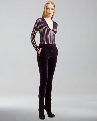 Marcie Cotton Velvet Pants