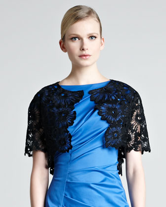 Lace Embroidered Bolero