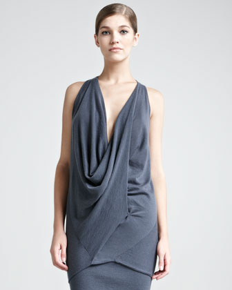 Cashmere Draped Top
