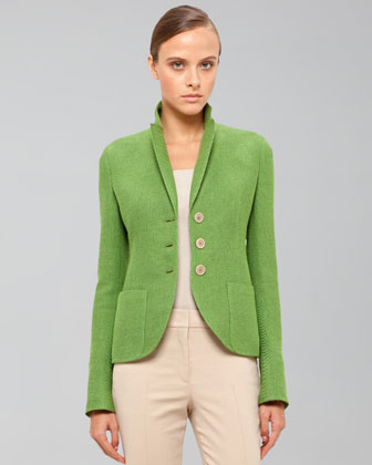 Panama Stretch Jacket, Grass