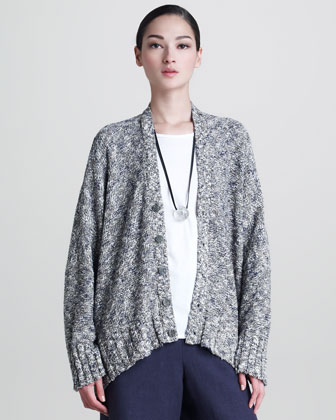 Long-Sleeve Cardigan