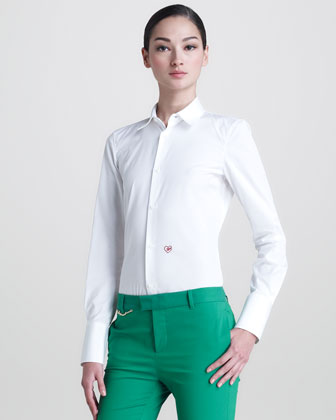 Les Copines Poplin Shirt