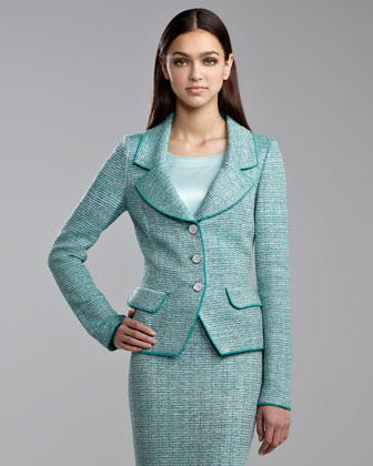 Sparkle-Knit Jacket
