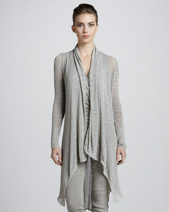 Long Draped Tunic, Hemp
