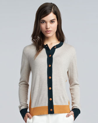 Gina Colorblock Cardigan