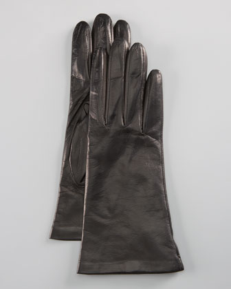 Leather Glove, Black