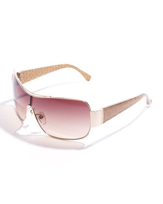 Rae Metal-Rim Sunglasses