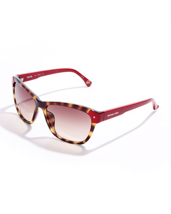 Zoe Color-Detail Sunglasses