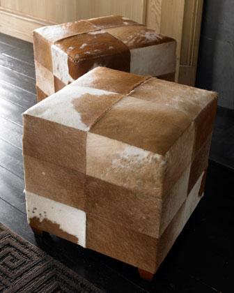 Furniture Gt Living Room Furniture Gt Ottoman Gt Cowhide Ottoman