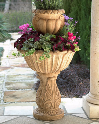 Acanthus Tiered Planter