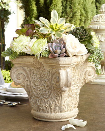 Outdoor Tabletop Planter