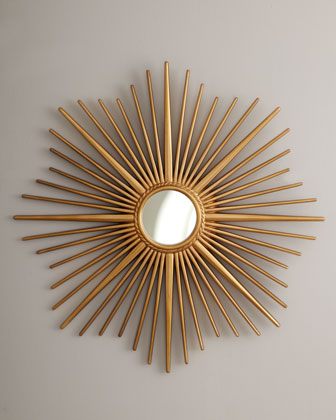 Golden Sunburst Mirror