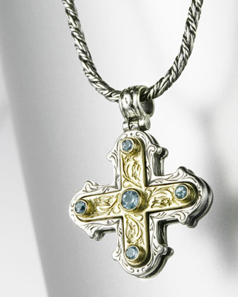 Square Maltese Cross Pendant