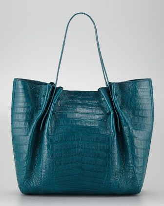 Medium Pleated Tote Bag