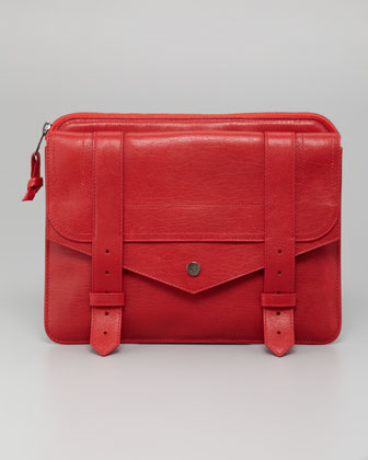 PS1 Lambskin iPad Case, Lipstick