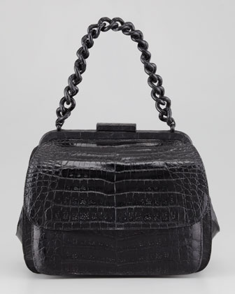 Framed Small Lady Bag, Black