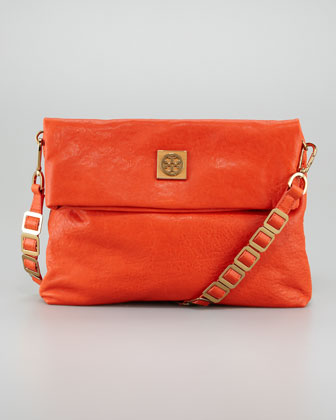 Louisa Messenger Bag, Flame Red