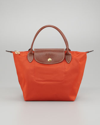 Le Pliage Small Tote Bag, Paprika