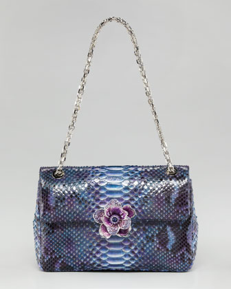 Zahara Flower-Flap Shoulder Bag