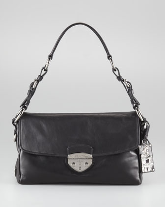 Soft Calfskin Shoulder Bag