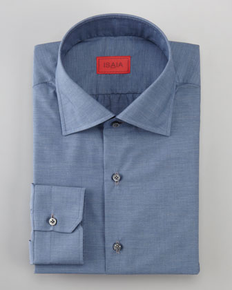 Barrel-Cuff Dress Shirt