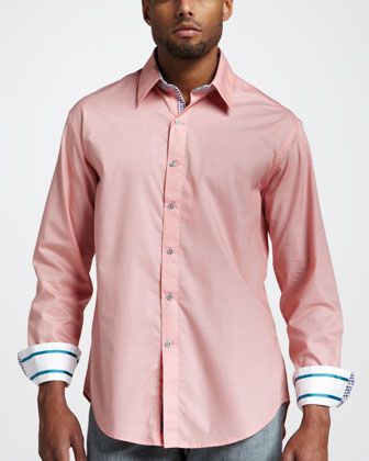 Bitter End Sport Shirt, Orange