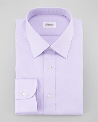 Pinpoint Oxford Dress Shirt, Lavender