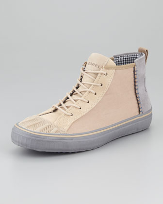 Canvas Chukka Sneaker, Tan