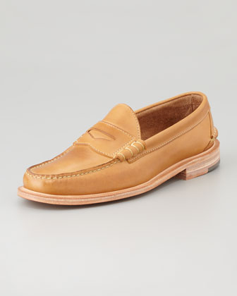 Martin Penny Loafer, Tan