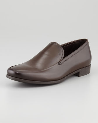 Leather Slip-On Venetian Loafer