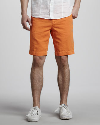 Chinolino Shorts, Orange
