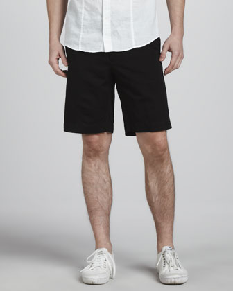 Chinolino Shorts, Black
