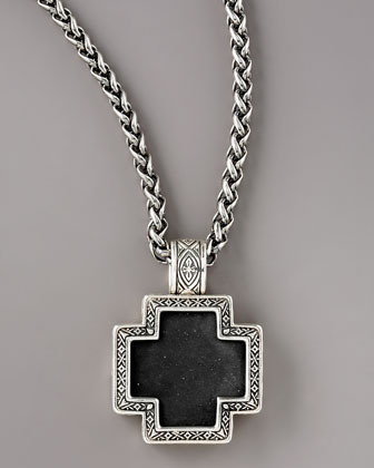 Paganini Onyx Cross Necklace