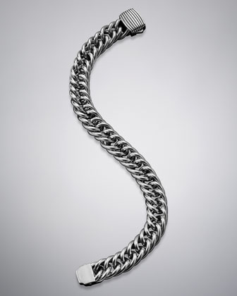 Royal Cord Curb Chain Bracelet