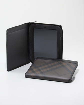 Check Zip iPad Case