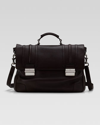 Cellarius Leather Briefcase