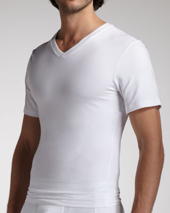 Cotton Comfort V-Neck Tee