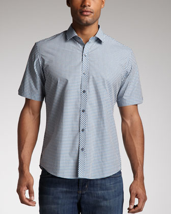 Vasco Check Short-Sleeve Shirt