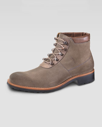 Wilton Suede Chukka, Light Gray