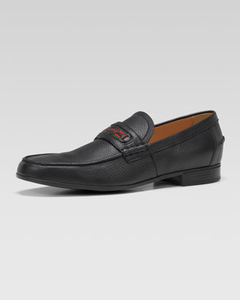 Goudin Pebbled Web Loafer