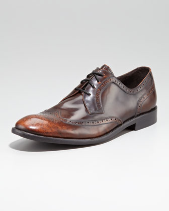 Hallowell Perforated Lace-Up